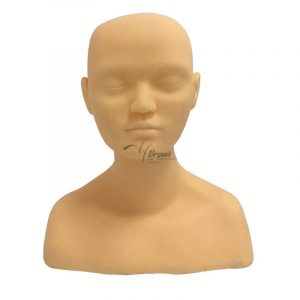 3D Silicone Head Model for Eyebrow Lip Eyeliner Microblading Practice