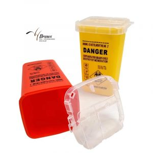 Permanent Makeup Medical Plastic Tattoo Needle Disposal Sharps Container Waste Box